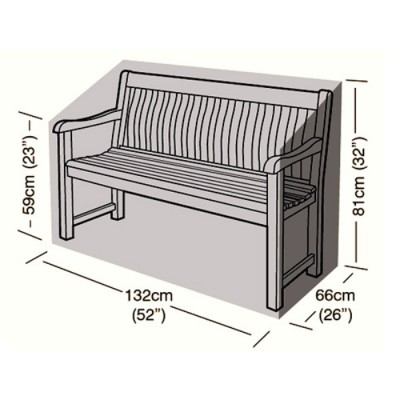Preserver - 2 Seater Bench Seat Cover - 132cm