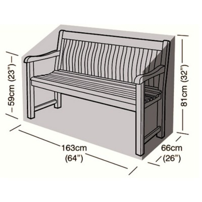 Preserver - 3 Seater Bench Seat Cover - 163cm