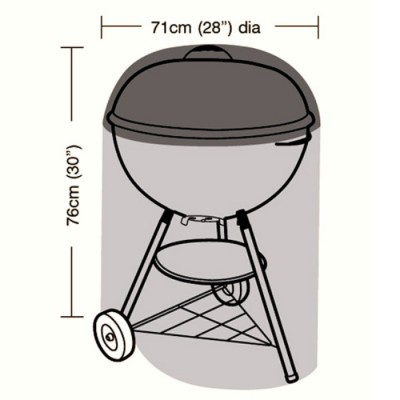 Deluxe - Kettle BBQ Cover - 71cm