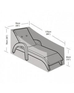 Deluxe - Small Sun Lounger Cover - 175cm