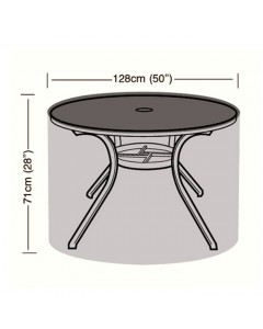 Preserver - 4/6 Seater Circular Table Cover - 128cm