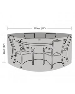 Preserver - 6 Seater Circular Patio Set Cover - 225cm