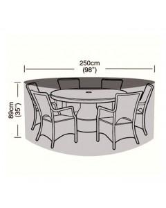 Preserver - 6/8 Seater Circular Patio Set Cover - 250cm