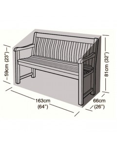 Deluxe - 3 Seater Bench Seat Cover - 163cm