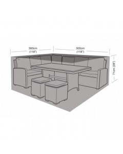Deluxe - Large Square Casual Dining Cover