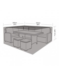 Deluxe - Small Casual Dining Set Cover - 250cm