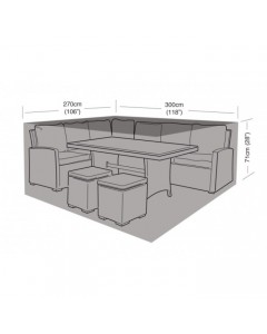 Deluxe - Large Casual Dining Set Cover - 300cm