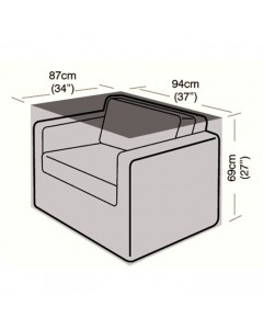 Deluxe - Small Armchair Cover - 87cm